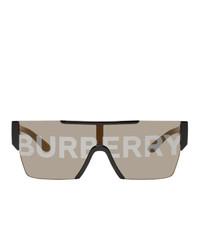 Gafas de sol estampadas marrónes de Burberry