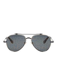 Gafas de sol estampadas negras de Givenchy