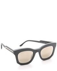Gafas de Sol Gris Oscuro de Stella McCartney