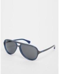 Gafas de sol grises de Emporio Armani