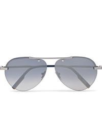 Gafas de sol grises de Ermenegildo Zegna