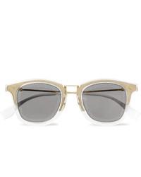 Gafas de sol grises de Fendi