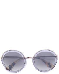 Gafas de sol grises de Prada