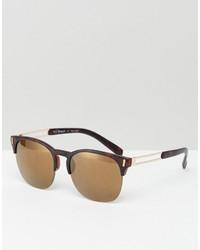 Gafas de sol marrón claro de A. J. Morgan