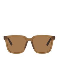 Gafas de sol marrón claro de Bottega Veneta