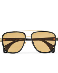 Gafas de sol marrón claro de Gucci