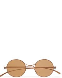 Gafas de sol marrón claro de Maison Margiela