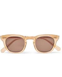 Gafas de sol marrón claro de Mr Leight
