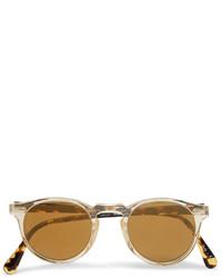 Gafas de sol marrón claro de Oliver Peoples