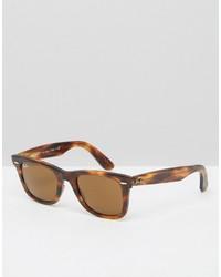Gafas de sol marrón claro de Ray-Ban