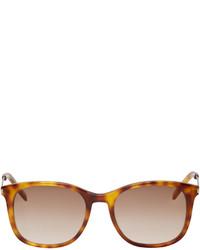Gafas de sol marrón claro de Saint Laurent