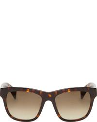 Gafas de Sol Marrón Oscuro de Jil Sander