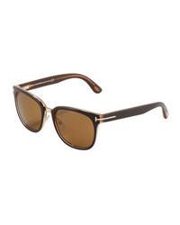 Gafas de sol marrónes