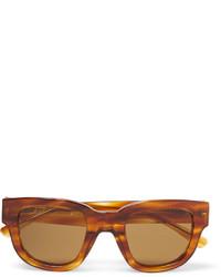 Gafas de sol marrónes de Acne Studios