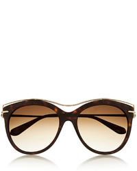 Gafas de sol marrónes de Alexander McQueen