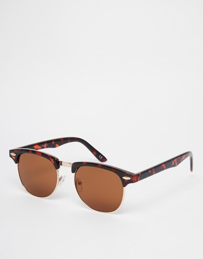Gafas de sol marrónes de Asos