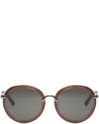 Gafas de sol marrónes de Dries Van Noten