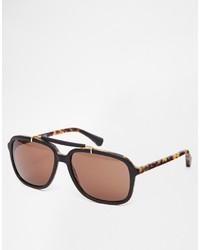 Gafas de sol marrónes de Emporio Armani