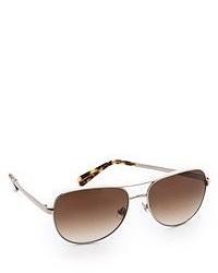 Gafas de sol marrónes de Kate Spade
