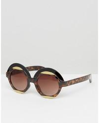 Gafas de sol marrónes de Monki