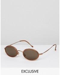 Gafas de sol marrónes de Reclaimed Vintage