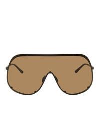 Gafas de sol marrónes de Rick Owens
