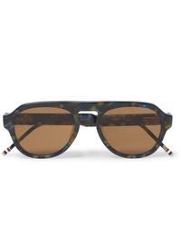 Gafas de sol marrónes de Thom Browne