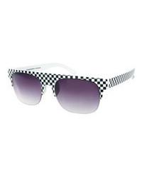 Gafas de sol morado oscuro de Quay Eyewear Australia
