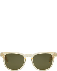 Gafas de sol mostaza de Paul Smith