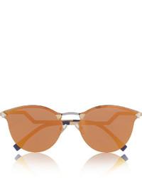 Gafas de sol naranjas de Fendi