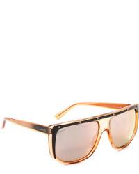 Gafas de sol naranjas de Gucci