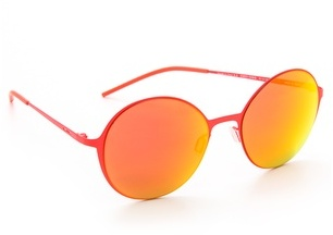 191fa352c3 Gafas de sol naranjas de Italia Independent, €188 | shopbop.com ...