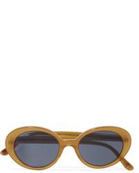 Gafas de sol naranjas de Oliver Peoples