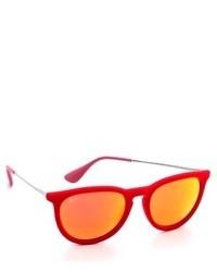 Gafas de sol naranjas de Ray-Ban