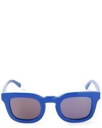 Gafas de Sol Negras y Azules de Neil Barrett