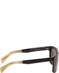 Gafas de sol negras de Jil Sander