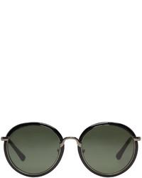 Gafas de sol negras de Dries Van Noten