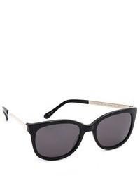 Gafas de sol negras de Kate Spade