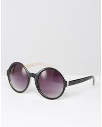 Gafas de sol negras de Missguided