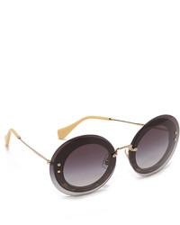 Gafas de sol negras de Miu Miu