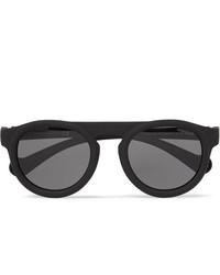 Gafas de sol negras de Moncler