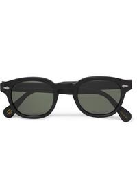 Gafas de sol negras de Moscot