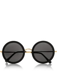 Gafas de sol negras de The Row
