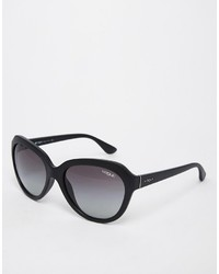 Gafas de sol negras de Vogue