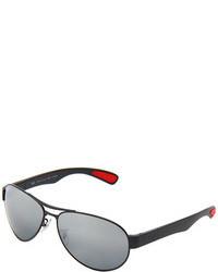Gafas de sol plateadas