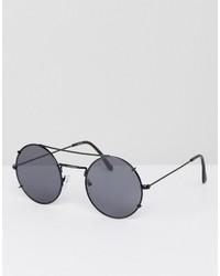 Gafas de sol plateadas de Asos
