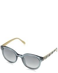 Gafas de sol plateadas de Bluemarine