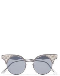 Gafas de sol plateadas de Bottega Veneta
