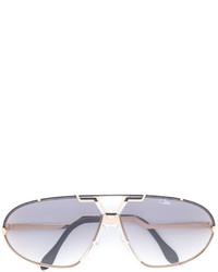 Gafas de sol plateadas de Cazal