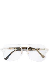 Gafas de sol plateadas de Grey Ant